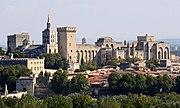 Avignon, Palais des Papes depuis Tour Philippe le Bel by JM Rosier