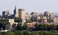 Avignon, Palais des Papes depuis Tour Philippe le Bel by JM Rosier.jpg