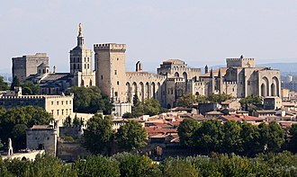 Palais des Papes - The Palais des Papes