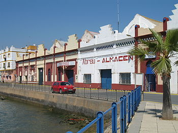 Ayamonte Muelle de Portugal