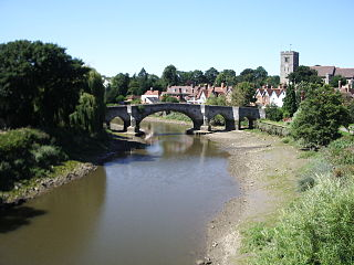 Aylesford village and civil parish in Tonbridge and Malling, Kent, England