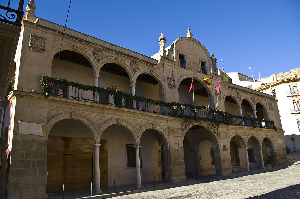 Casa consistorial de lorca wikipedia la enciclopedia libre - Casas de campo embargadas en lorca ...