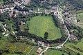 Az abaújvári földvár - ispánsági központ légi fotón.jpg