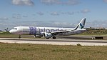 Azores Airlines A321NEO just arrived at Lisbon airport (46832255594).jpg