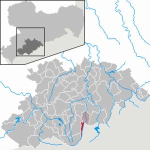 Bärenstein - Image: Bärenstein in ERZ