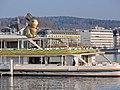 Bürkliplatz - ZSG 'Wädenswil' mit Lindt 'Goldhase' 2014-03-28 17-29-30 (P7800).jpg