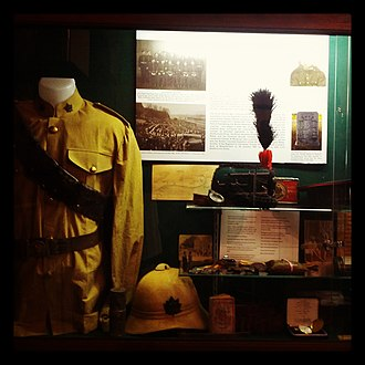 Beatty Street Drill Hall - A selection of the collection at the BCR Museum