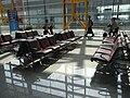 BJ 北京首都國際機場 Beijing Capital International Airport BCIA interior waiting room seats Aug-2010.JPG