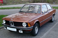 Early BMW 3 Series
