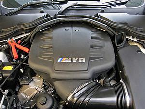 BMW S65 - Image: BMW S65 Engine