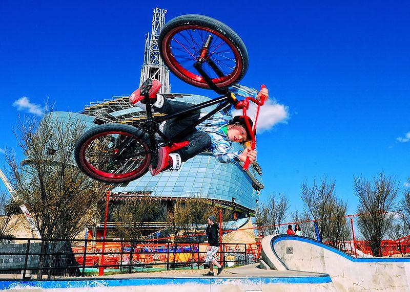 File:BMX bike jump.jpg