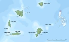 Carte et situation des Îles Babuyan