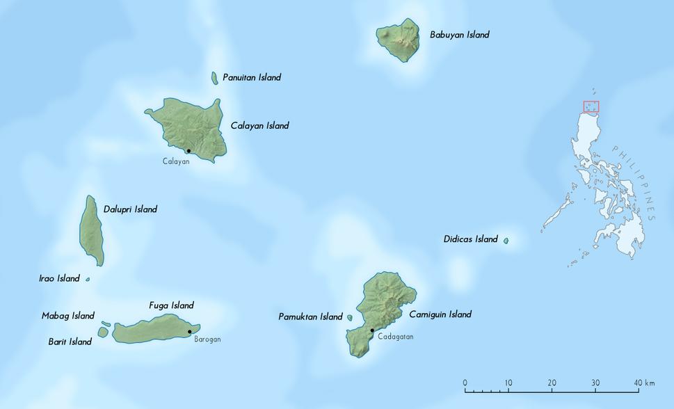 Babuyan islands en