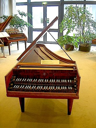 Berlin Musical Instrument Museum - Image: Bach Cembalo