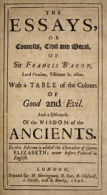 francis bacon essays of beauty Find great deals on ebay for francis bacon essays shop with confidence.