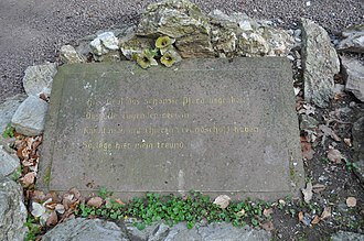 Gothic House (Bad Homburg) - Horse grave