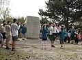 Baden Powell's Stone Brownsea Island - geograph.org.uk - 415620.jpg