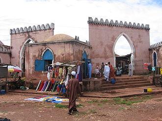 Religion in Guinea-Bissau - A mosque in Bafatá, Guinea-Bissau.