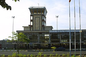 Amhara Region - The Bahir Dar Airport in the Amhara Region.