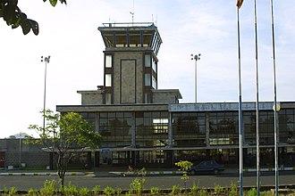 Amhara Region - The Bahir Dar Airport in the Amhara Region.