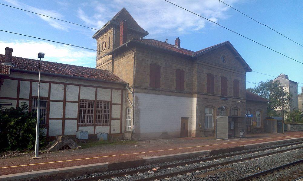 Bahnhof Morhange Hauptgebäude