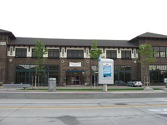 Baker Motor Vehicle - Baker's former showroom and service facility on Euclid Avenue
