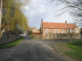 Baldersby Village and civil parish in North Yorkshire, England