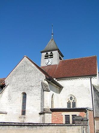 Balignicourt - Image: Balignicourt Église (2)