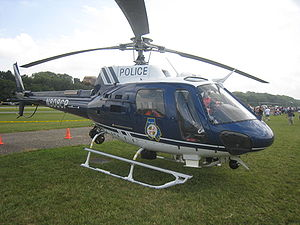 Baltimore County Police Department - Baltimore County Police Eurocopter AS350 at the famous historic College Park Airport's 100th Anniversary in College Park, Prince George's County.