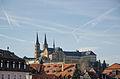 Bamberg, Kloster Michelsberg, Blick von der Unteren Brücke-001.jpg