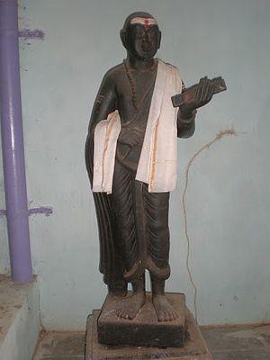 Pothana - Pothana statue at Bammera village