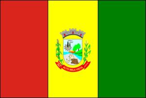 Alto Bela Vista - Image: Bandeira de Alto Bela Vista SC