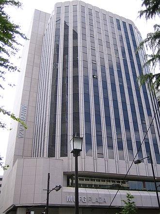 MUFG Bank - Nihombashi Branch in Tokyo (former Bank of Tokyo headquarters)