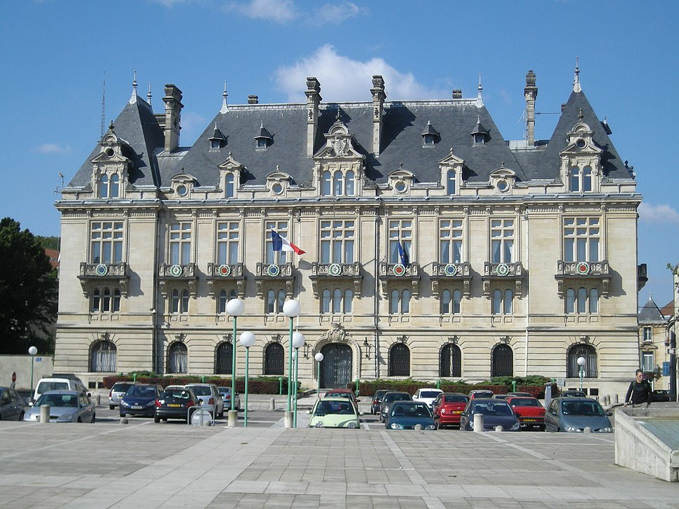 Prefecture building of the Meuse department, in Bar-le-Duc