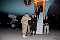 Barack Obama arrives at Bagram Airfield 2012.jpg