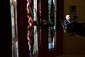 Barack Obama talks with Chief of Staff Denis McDonough, 2013.jpg