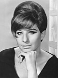 Photo of Barbra Streisand in 1965.