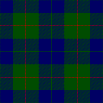 Clan Barclay - Barclay tartan, as published in the  Vestiarium Scoticum (1842).