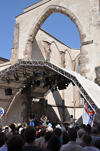 Katharinenkirche, Nuremberg - Concert in the ruins, 2013