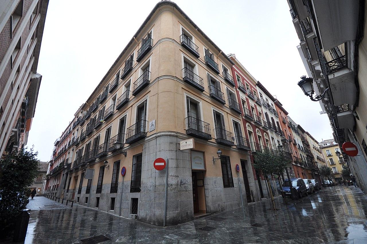 el barrio de las letras madrid: