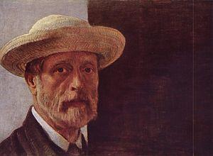 Barthélemy Menn - Self-portrait