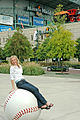 Baseball Pose - Minute Maid Park - Houston, Texas.jpg