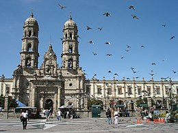 Basilica of Our Lady of Zapopan.