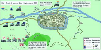 Siege of Lochem (1582) - Image: Batalla de Lochem Hugo Cañete La Guerra de Frisia
