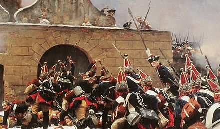Battle of Leuthen by Carl Röchling Batte of Leuthen.jpg