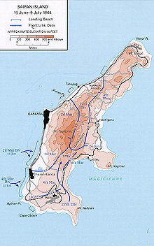 Battle of Saipan - Wikipedia on papeete map, battle of midway map, peleliu map, micronesia map, iwo jima map, tinian map, pago pago, guam map, tarawa atoll, mariana islands map, coral sea map, marshall islands map, malta map, midway atoll, wake island, philippines map, guadalcanal map, palau map, tarawa map, battle of guam, pohnpei map, sipan island map, pacific war, saipan international airport, howland island, northern mariana islands, taiohae map, larry hillblom, pago pago map, battle of saipan, yap map,