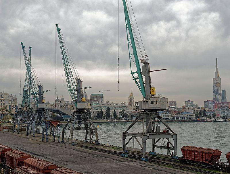 Batumi seaport, Adjaria, Georgia.jpg