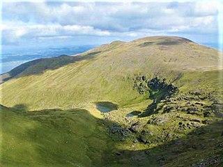 Baurtregaum Mountain in Kerry, Ireland