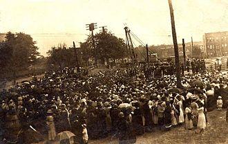Bay Ridge, Brooklyn - Breaking ground on Bay Ridge High School, 1914