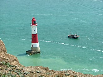 Beachy Head Lighthouse - Image: Beachy Head Lighthouse geograph.org.uk 465924
